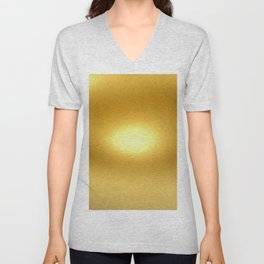 New Gold Unisex V-Neck