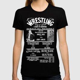 #2-B Memphis Wrestling Window Card T-shirt