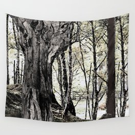 Trees have long thoughts, Wall Tapestry