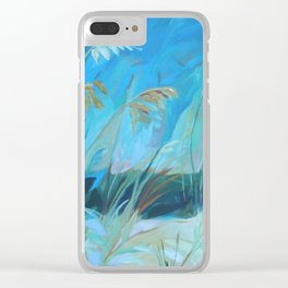 Witnessing Beauty 3 Clear iPhone Case