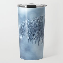 Winter leaf Travel Mug