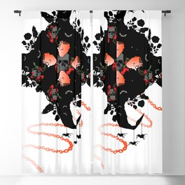 Witches Blackout Curtain