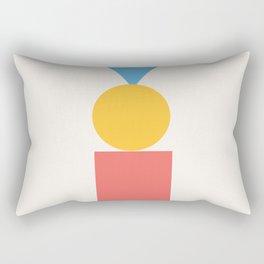 Primary Print Rectangular Pillow