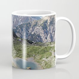 Alps Mountain Lakes Landscape Coffee Mug