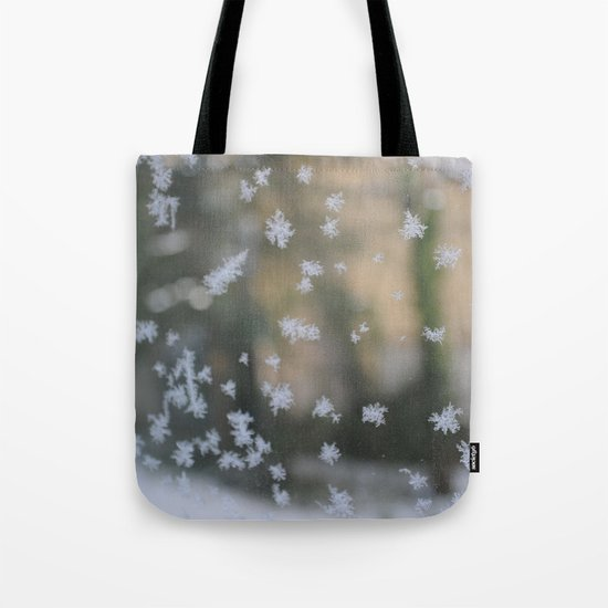 """It's frosty """"Ice Flower"""" #2 #art #society6 Tote Bag"""