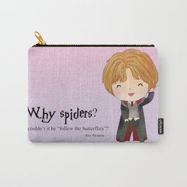 Why spiders? Carry-All Pouch