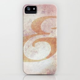 Biorst Ampersand iPhone Case