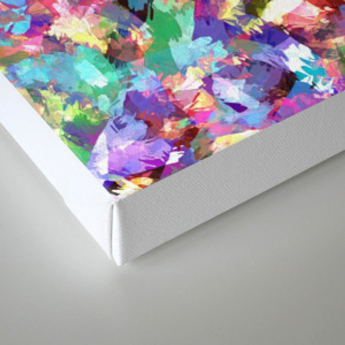 Painting With Color Canvas Print