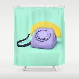 HELLO BANANA Shower Curtain
