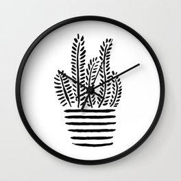 Just A Few Lines Wall Clock