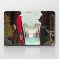 beaver iPad Cases featuring Camp Beaver by Manuel Kilger