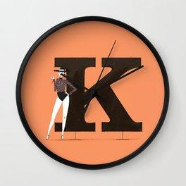 Kendra & Clarendon Wall Clock