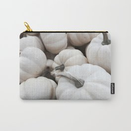 White Autumn Carry-All Pouch
