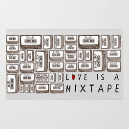 Love is a Mixtape Rug