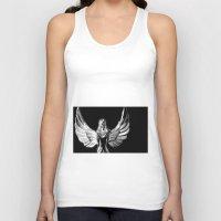 angel wings Tank Tops featuring Angel Wings by Shaunia McKenzie