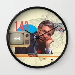 Mr. Rogers 143 Wall Clock