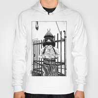 apollonia Hoodies featuring asc 589 - La maison close (No trespassing) by From Apollonia with Love