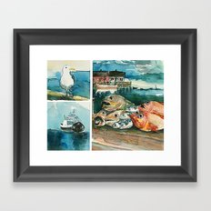 Memories frome the coast of Norway Framed Art Print