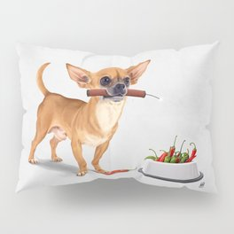 Spicy (Wordless) Pillow Sham
