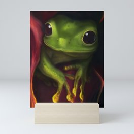 Playing with fire Mini Art Print
