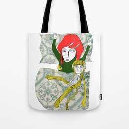 Tina&Ape Tote Bag