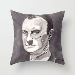 Mark Gatiss as Mycroft Holmes Throw Pillow