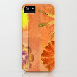 Internarial Concord Flowers  ID:16165-011657-19151 iPhone Case