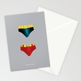 Battle of the Superheroes Stationery Cards