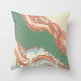 Serpents Over Spain Throw Pillow