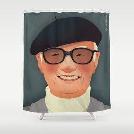 Osamu Tezuka Shower Curtain
