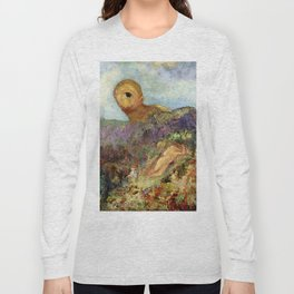 "Odilon Redon ""The Cyclops"" Long Sleeve T-shirt"