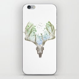 Deer Skull iPhone Skin