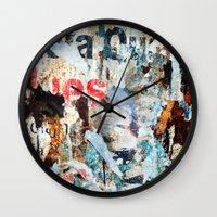 Vestiges II Wall Clock