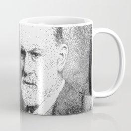 Sigmund Freud (Pen Pointillism) Coffee Mug