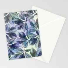 Leaves Watercolour Stationery Cards