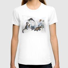 Awesome mustelids T-shirt