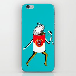 Pop Art to Go iPhone Skin