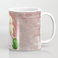 mother of dragons Mugs featuring Mother of Dragons by Cosmic Lab Creations