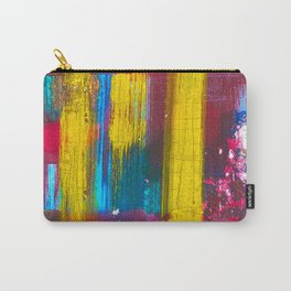 Colorful Abstract Art Design Carry-All Pouch