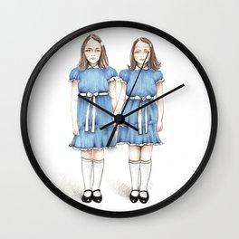 The Grady Twins Wall Clock