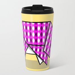 Origami Pig Travel Mug