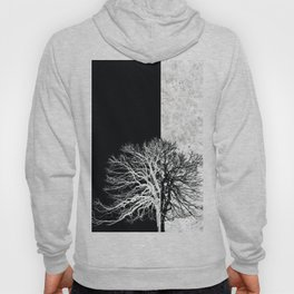 Natural Outlines - Tree Black & Concrete #295 Hoody