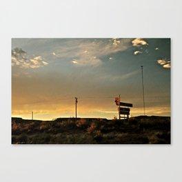 Its A Sign Canvas Print