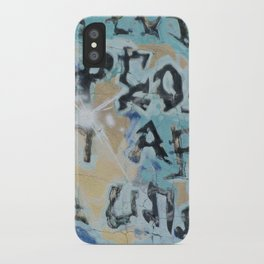 sf graffiti iPhone Case
