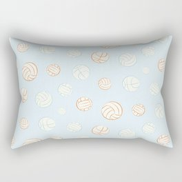 Summer ball sport pattern Rectangular Pillow