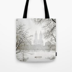 Winter - Central Park - New York City Tote Bag