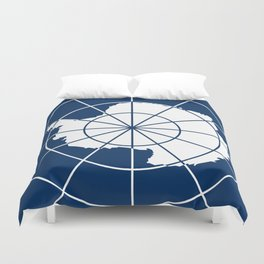 Flag of Antarctica Duvet Cover
