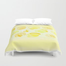Cry Onions Smell Garlic Duvet Cover