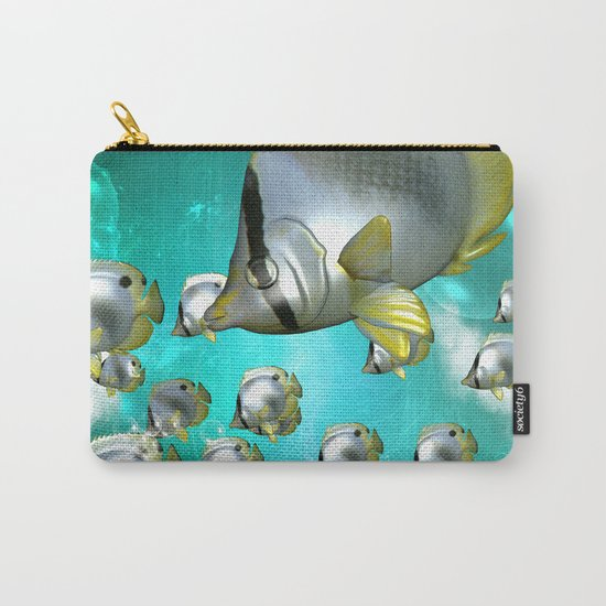 Wonderful butterflyfish  Carry-All Pouch