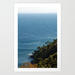 Seascape France Cote d'Azur 1766 Art Print